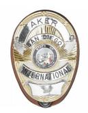 Aker Model 591 Shield Badge Holder tan