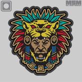 Mil-Spec Monkey Aztec Warrior Head 1 Patch - Main - Only $5.50 - LA Police Gear