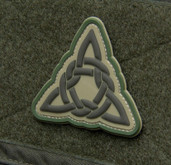 Mil-Spec Monkey Celtic Knot Triangle 1 Patch - Arid - Only $5.00 - LA Police Gear