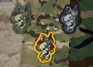 Mil-Spec Monkey Skull Snake 1 PVC Patch - Variants - Only $6.00 - LA Police Gear