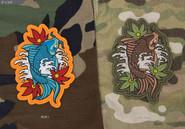 Mil-Spec Monkey Koi Tattoo 1 PVC Patch - Variants - Only $6.50 - LA Police Gear