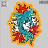 Mil-Spec Monkey Koi Tattoo 1 PVC Patch - Main - Only $6.50 - LA Police Gear