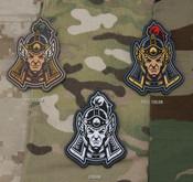 Mil-Spec Monkey Ming Dynasty Warrior Head 1 PVC Patch - Variants - Only $5.50 - LA Police Gear