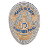 Hero's Pride Los Angeles Police Officer Badge Patch - 5059A - Only $2.99 - LA Police Gear
