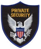 Hero's Pride Private Security Patch-Royal Blue Border - Only $2.99 - LA Police Gear