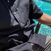 LA Police Gear Terrain Short Sleeve Button Up Shirt