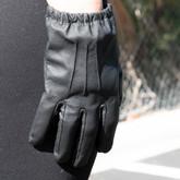 LA Police Gear Leather Duty Glove
