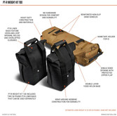 5.11 Tactical 100 Pound PT-R Weight Kit - Features