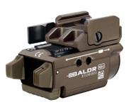 Olight Baldr Mini Green Laser Tactical Flashlight - LA Police Gear