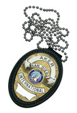 Aker Model 691 Recessed Shield Badge Holder Black