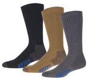 Bates 6PK Cotton Comfort Crew Sock - E11673770-990 - LA Police Gear