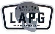 LA Police Gear 20th Anniversary Limited Edition Sticker