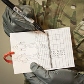 Tactical Medical Solutions Combat Casualty Card CCT  - LA Police Gear