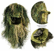 Red Rock Outdoor Gear 5-Piece Adult Ghillie Suit Woodland