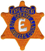 Heros Pride LA County Sheriff Explorer Star Patch 5002-HP