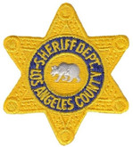 Heros Pride LA County Sheriff Department Star Patch 5003-HP