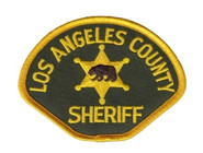 Heros Pride LA County Sheriff Full Color Small Patch 5010-HP