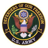Heros Pride Defenders Of Our Freedom - Army - 12 Circle 8239A 849204000177