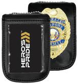 Heros Pride Universal Magnetic Badge and ID Holder 9130U 849204002140 - LA Police Gear - |Only  12.99|
