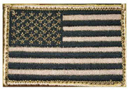 Blackhawk American Flag Patch - Coyote Tan Subdued 90DT