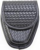 TUFF Single Handcuff Case basketweave front