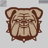 Mil-Spec Monkey Bulldog Patch Small BULLDOG-SMALL - LA Police Gear