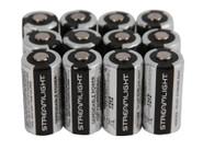 Streamlight 3V CR123 Lithium Batteries - 12 Pack 12PACK