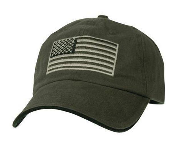 LA Police Gear Flag Hat FLAGHAT-NOLOGO