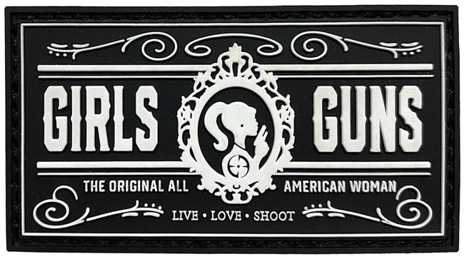 LA Police Gear Girls N Guns Patch PATCH-GIRLS-N-GUNS 641606910197