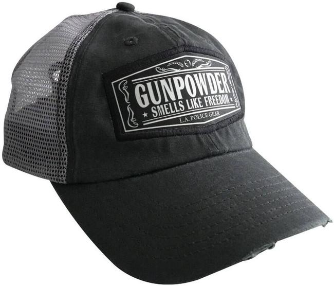 LA Police Gear Gunpowder Trucker Hat HE-GUNPOWDER 641606911941