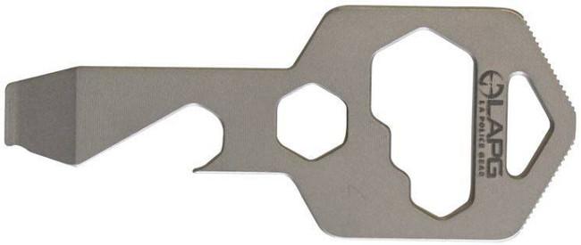 LA Police Gear Titanium KeyTool MT004 641606909498