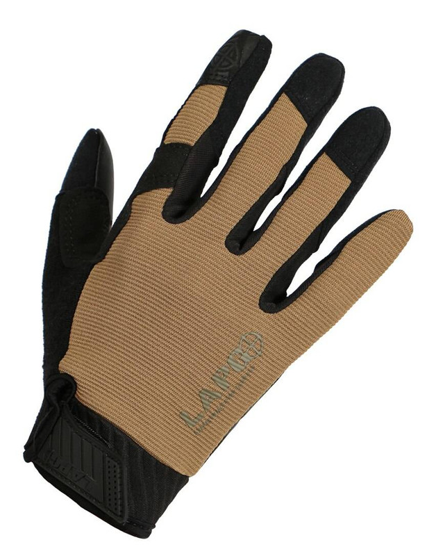 LA Police Gear Coyote Tan Operator Grip/Touch Gloves LAGPT-70