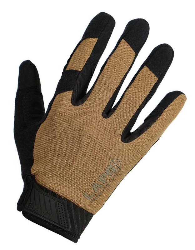 LA Police Gear Coyote Tan Operator Touchscreen Gloves LAOPT-70