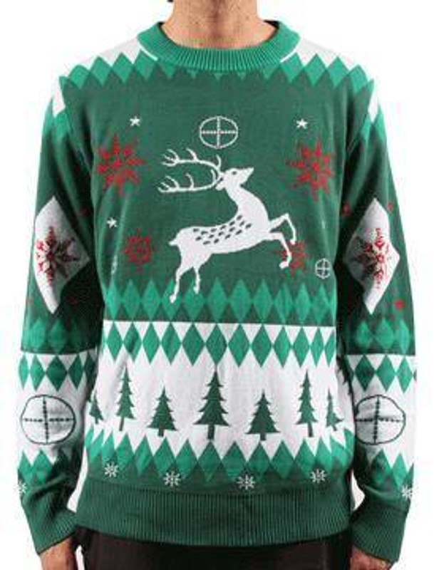 LA Police Gear Oh Deer Christmas Sweater CS-DD