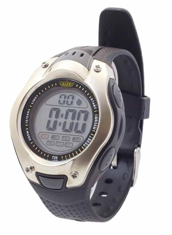 UZI Digital Sport Watch 725 Black/Siliver W-725 024718926407