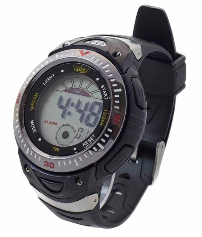 UZI Digital Sport Watch 796 Black/Grey W-796 024718926384