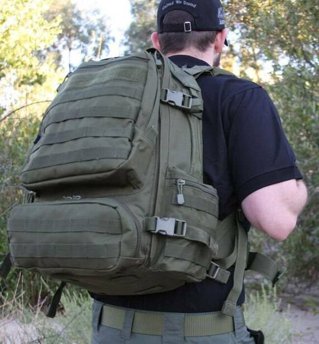 LA Police Gear Operator Backpack LARGEPACK