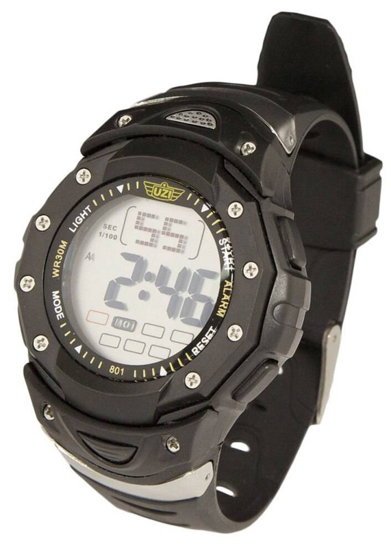 UZI Digital Sport Watch 801 Black W-801 024718926391