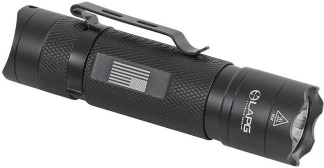 LA Police Gear Operator EDC 330 Lumens Flashlight OPERATOR-EDC 091037771711