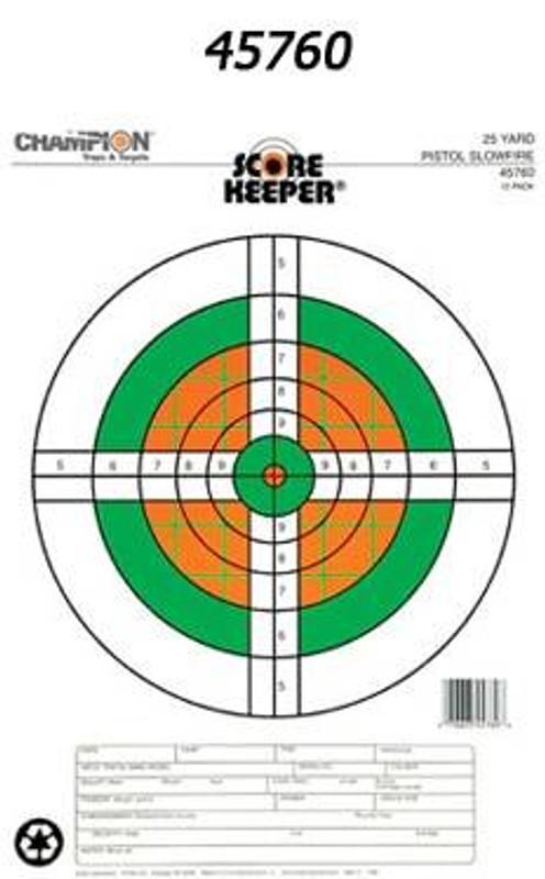 Champion Targets ScoreKeeper Precision Paper Targets SCOREKEEPER