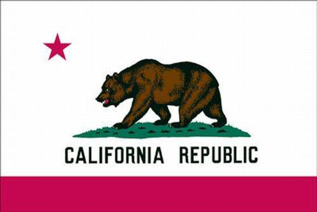 Valley Forge Spectrapro Polyester California Flag CA-SPP