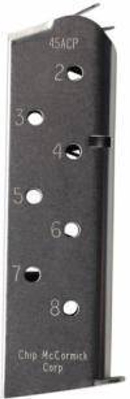 Chip McCormick Mag Match Grade 45 ACP 8Rd Stainless with Pad 1911 14110 14110 705263141100