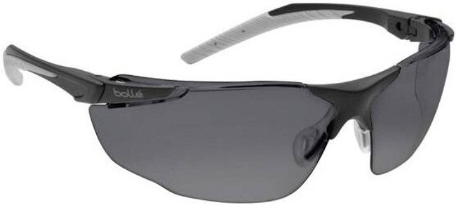 Bolle Smoke Universal Safety Glasses BOLLE-40155G 054917285036