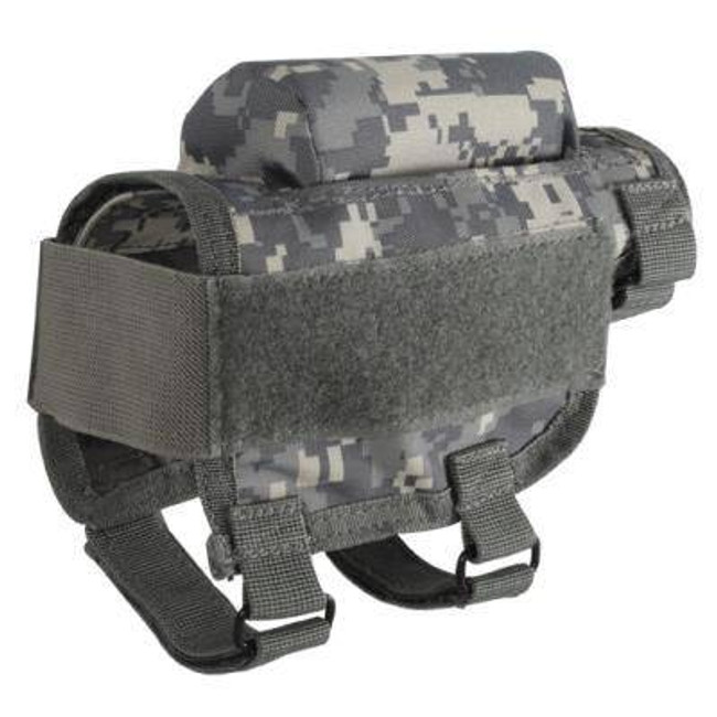 Voodoo Tactical Adjustable Cheek Rest with Ammo Carrier 20-9421