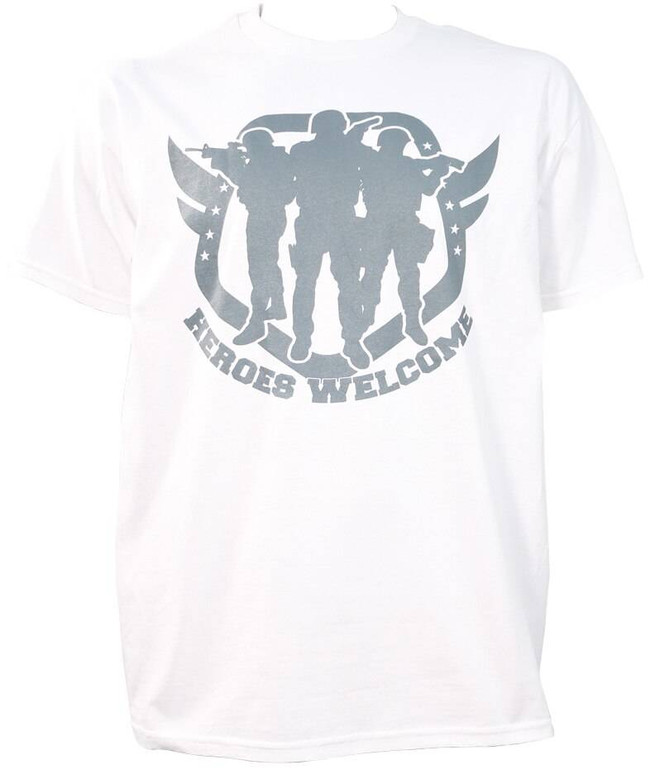 LAPG Mens Heroes Welcome T-Shirt SS - CLOSEOUT HEROES-CO