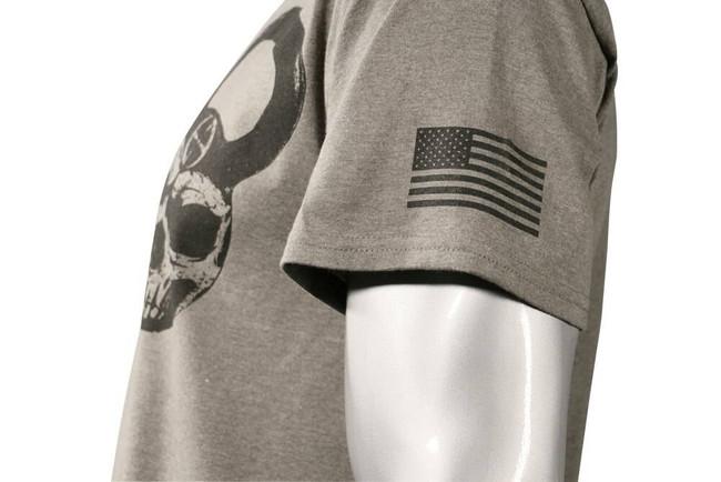 LA Police Gear Mens Skull Kettlebell T-Shirt S/S - CLOSEOUT KETTLEBELL-CO