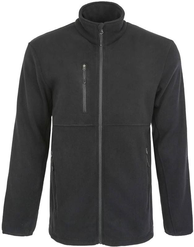 LA Police Gear Mens Lightweight Fleece Zip Sweater CLOSEOUT FLEECE-CO