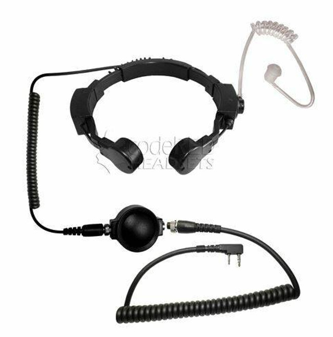 Code Red Headsets Assault Tactical Throat Microphone ASSAULT-CO