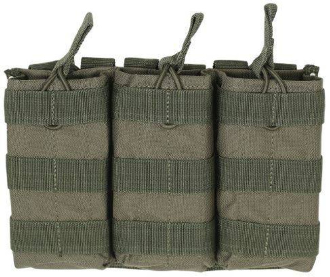 TRIPLE M4/M16 OPEN TOP MAG POUCH - CLOSEOUT 20-8180