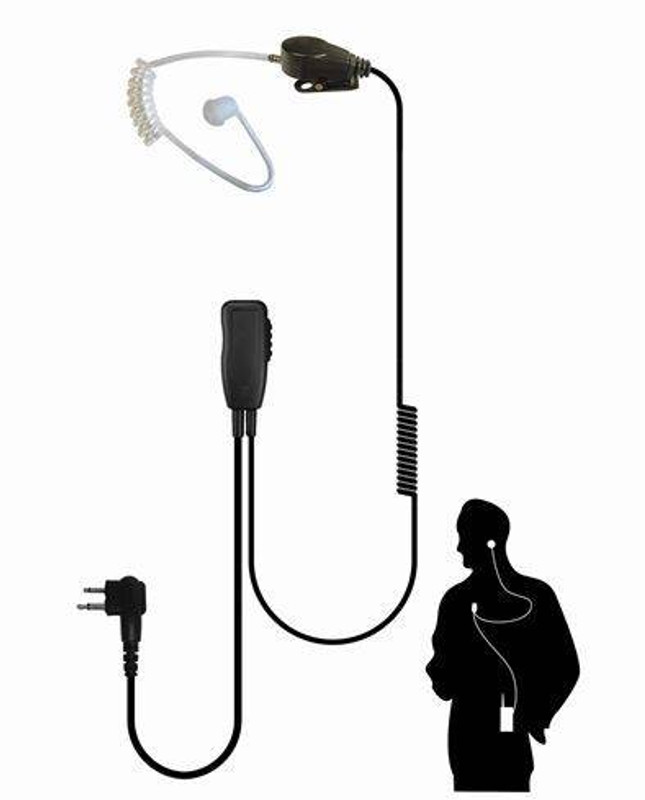 Code Red Headsets Recruit Single Wire Microphone RECRUIT